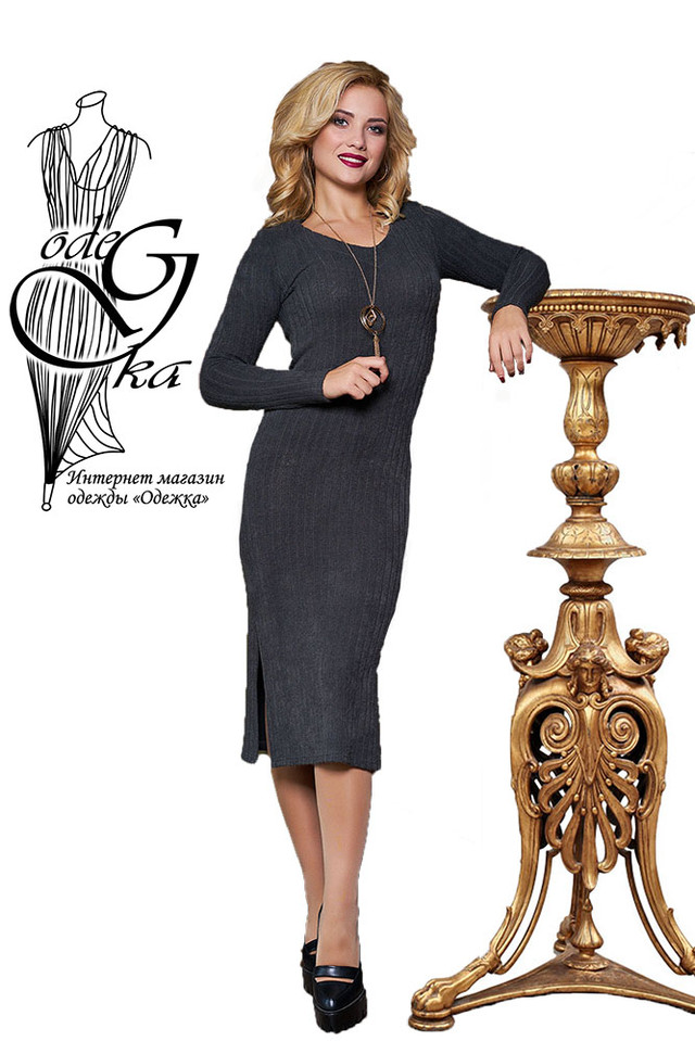 Подобные товары-4 Женского облегающего платья приталенного Ванда-3