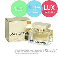 Dolce&Gabbana The One. Eau De Parfum 75 ml / Женская парфюмированная вода Дольче Габбана Зе Ван 75 мл