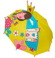 Детский зонт 3D D-55 princess