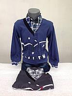 Рубашка-обманка для мальчиков Сказочный город
