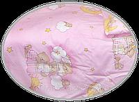 """Пододеяльник для детского одеяла в кроватку """"Мишка на лестнице"""" 145х105 см, ТМ Ромашка"""