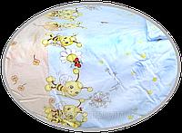 """Пододеяльник для детского одеяла в кроватку """"Пчёлки"""" 145х105 см, ТМ Ромашка"""