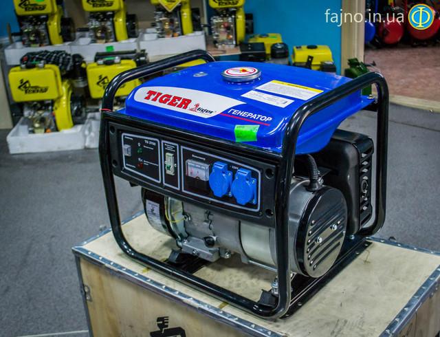 Бензиновый бесщеточный генератор Tiger 3700 фото 1