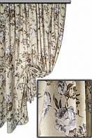 Ткань с цветочным принтом Батик