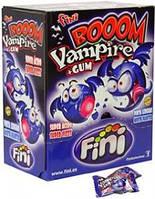 Леденец-жвачка вампиры Fini Vampire Boom Блок -200 шт.! Супер приколы супер-людям!