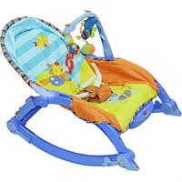 Детское кресло-качалка (7179) 3 в одном на батарейках.