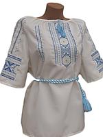 "Жіноча вишита блузка ""Карен"" (Женская вышитая блузка ""Карен"") BN-0032"