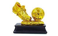 Награда золотая буца 15 см