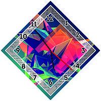 Оригинальные настенные часы Геометрические тела