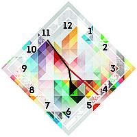 Оригинальные настенные часы Кубизм