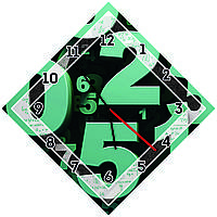 Оригинальные настенные часы Цифры