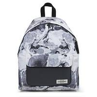 Интересный городской рюкзак 24 л. Eastpak - Padded Pak'r Texture Black  EK62011N  Черно-белый