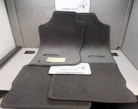 Коврики велюровые (цвет древесный уголь) Toyota 4Runner 1996-02 новые оригинальные