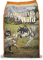 Taste of the Wild High Prairie Puppy Formula 13кг - для щенков всех пород  с олениной и мясом бизона