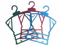 """Вешалки для детской одежды цветные маленькие """"Рамка"""""""