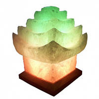 Соляной светильник Китайский домик 5-6 кг с цветной лампочкой
