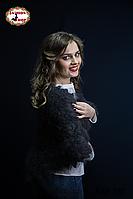 Оренбургский пуховый платок-косынка Беатриса