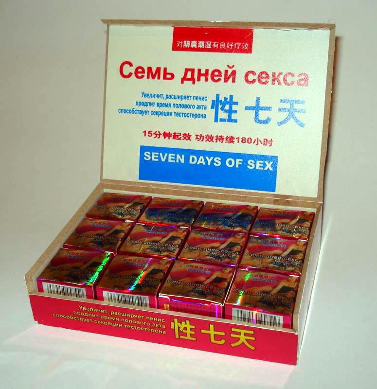 Таблетки бады для повышения потенции