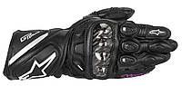 Мотоперчатки женские ALPINESTARS Stella GP Plus кожа черный XS