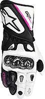 Мотоперчатки женские ALPINESTARS Stella GP Plus кожа черный белый XS