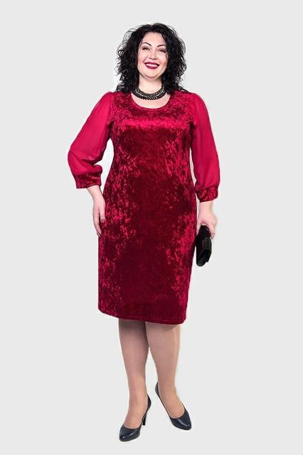 Платья женские увеличенных размеров