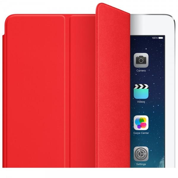 Оригинальный Чехол Apple Smart Cover Red для iPad Air (Красный)