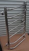 Полотенцесушитель водяной для ванной комнаты Трапеция 500*800мм/500мм(с боковым подводом) нержавеющая сталь