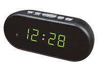 Часы от сети с подсветкой VST-712