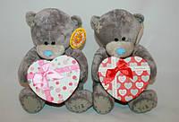 Мишка Тедди с коробкой для подарка