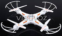 Радиоуправляемый квадрокоптер 2,4 gz Led 4 винта drone h905 белый
