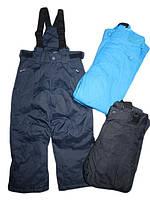 Детские лыжные штаны на шлейках
