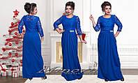 Модное вечернее платье №261,размеры 52-62