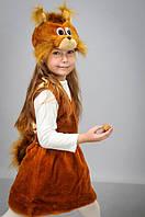 Детский карнавальный костюм Белка Белочка