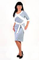 Платье трикотажное ,большие размеры, ПЛ 774551, платье молодежное , джерси .