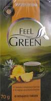 Чай Feel Green со вкусом ананаса 40 пак.