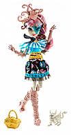 Кукла монстер хай Рошель Гойл с питомцем из серии Кораблекрушение - Пираты.