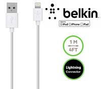 USB кабель Belkin для зарядки iPhone 5 5S 5C 6 6S 4.7 / 6 6S Plus / iPad 4 5