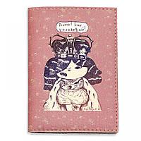 """Обложка для паспорта BlankNote """"Решила! Буду королевой!"""" + блокнотик"""