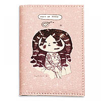 "Обложка для паспорта BlankNote ""Хочу на ручки"" + блокнотик"