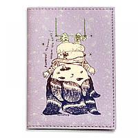 """Обложка для паспорта BlankNote """"Я девочка! Поэтому делаю, что хочу!"""" + блокнотик"""