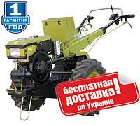Мотоблок ZIRKA WC10DE (10 л.с, эл.стартер)