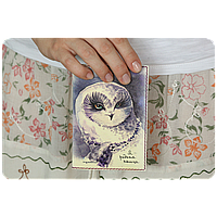 "Обложка для паспорта BlankNote ""Я - редкая птица"" + блокнотик"