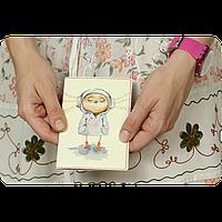 """Обложка для паспорта BlankNote """"Меломания"""" + блокнотик"""