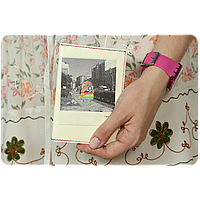 "Обложка для паспорта BlankNote ""Polaroid"" + блокнотик"