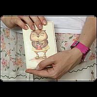 """Обложка для паспорта BlankNote """"Сладкоежки"""" + блокнотик"""