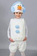 Детский костюм Снеговичок   Карнавальный костюм Снеговик
