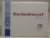 Даклатасвир - Daklatasvir 28 таб. по 60 мг.