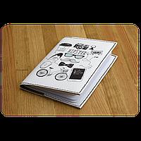 "Обложка для паспорта BlankNote ""Hipster mode"" + блокнотик"