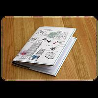 "Обложка для паспорта BlankNote ""Love story"" + блокнотик"