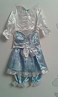 КК-23 - Детский карнавальный костюм Мальвина для девочек от3-х до 5-ти лет